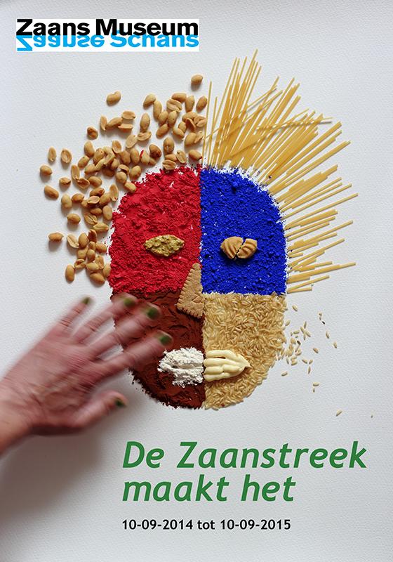 Poster Zaans museum klein