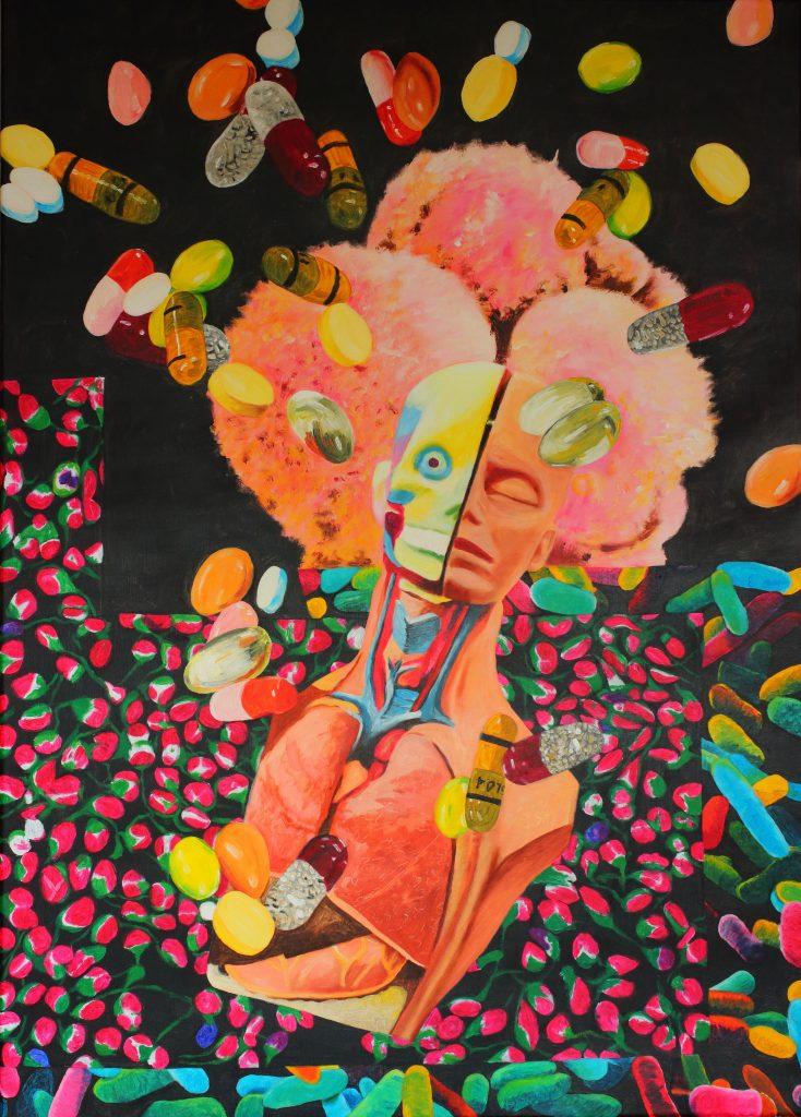 Medicine woman - 100 x 140 cm