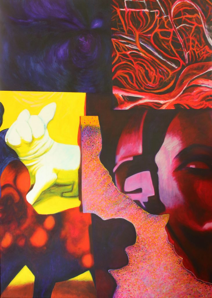 Mixed blessings - 100 x 140 cm